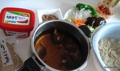 How to make Korean style cooled noodles