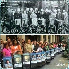 Aunque pasen los años el mismo espíritu se mantiene!!