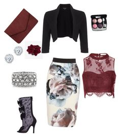 """""""Untitled #2"""" by joanna-mena on Polyvore featuring Glamorous, Chanel, Dorothy Perkins, Mark Broumand, Kobelli and Phase Eight"""