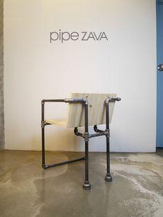 pipe chair / pipe DIY