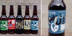 Partizan Brewing: Designed by Alec Doherty #packaging #beverage #beer
