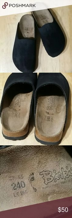 361232a8b55 Birki s by Birkenstock slip on clogs Black Sz 37 In good preowned condition  Birkenstock Shoes Mules   Clogs