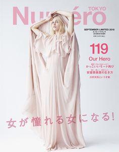Sasha Pivovarova Models the 2018 Fall/Autumn Collections for Numero Tokyo