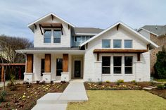 ** Good interior photos, 2 story House Plan 3348 - Hill country modern