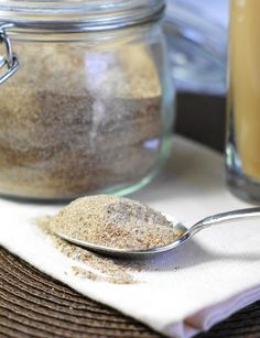 Homemade Chai Tea Latte Mix ... so yummy, and so easy.  And it makes a great gift!  www.thekitchenismyplayground.com