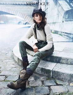 Kati Nescher for Vogue Paris (February 2014)