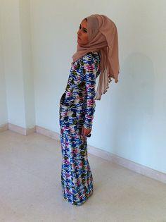 Impressive collection of dina tokio hijab fashion  ideas for modern women (26)