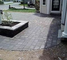 Patio, Fire Pit, and Garden Wall Build