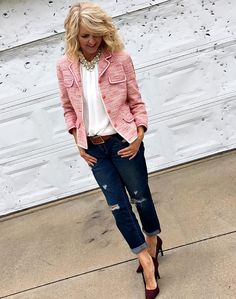 Looking for ideas on how to wear pink? Check out these 40+ style bloggers in this feminine color.