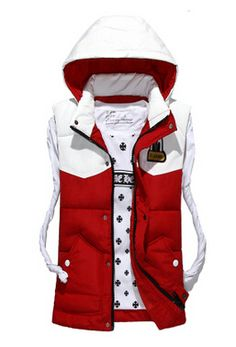 2015 male star with money ran down cotton vest couple models down cotton vest men's cotton vest hooded jacket padded coat