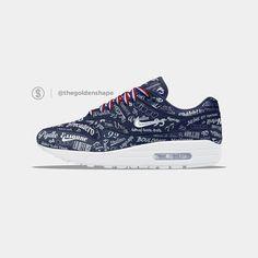 The Golden Shape, sneaker concepts & news Air Max 1, Nike Air Max, Baskets Nike, Mens Fashion, Fashion Outfits, Nike Free, Running Shoes, Kicks, Sneakers Nike