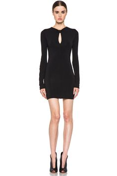 PIERRE BALMAIN Sexy Dress in Black
