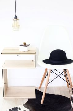 build an end table you can use in different ways