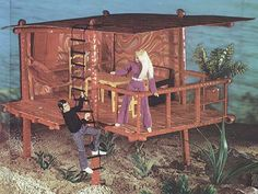 Mego Dinah Mites First Playset was the Beach House.
