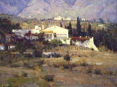 Richard Schmid, Benalmedena Villa, 18x24