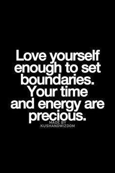 precious time and energy