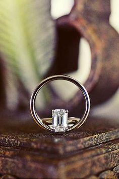 Great wedding ring shot.