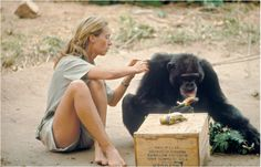 "I was never, ever told I couldn't do something because I was a girl."" —Jane Goodall"