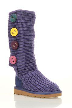 Ugg Girls' Cardy 2 Boot In Deep Cobalt