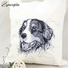 Cats and Dogs Rhodesian Ridgeback, Bernese Mountain, Mountain Dogs, Yorkshire Terrier, Collie, Embroidery Files, Embroidery Designs, Malteser, Curious Cat
