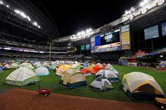 Sleepover at Miller Park with the Brewers Field of Sweet Dreams!