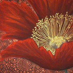 A Single Red Poppy Art Print by Cherie Roe Dirksen
