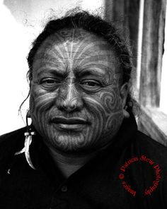 Photo by Patricia Steur - Maori tattoo.