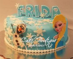 Frozen Cake - Cake by Cake Boutique Monterrey