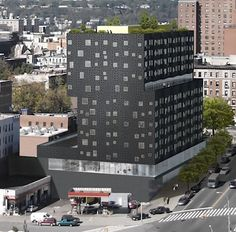 An Urban Farm on the Rooftop of Affordable-housing Project in Harlem