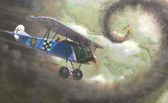Büchner's Fokker D.VII