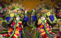 To view Gaura Nitai Close Up Wallpaper of ISKCON Chicago in difference sizes visit - http://harekrishnawallpapers.com/sri-sri-gaura-nitai-close-up-iskcon-chicago-wallpaper-001/