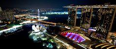 F1 Singapore Grand Prix #F1 #Singapore #OnlySingapore