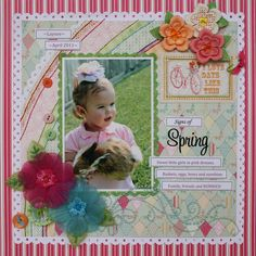 Signs of Spring  - Scrapbook.com