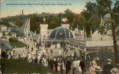 Amusement Arena, West View Park, North Side Pittsburgh Pennsylvania