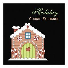Holiday Cookie Exchange Invitation