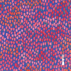 Tulip Tangled-Quilting Fabric-Michael Miller-Sommer by Sarah Jane-Modern Fabric-Fabric by the yard-Cotton Fabric-Floral Fabric-Blue Fabric by BrewStitched on Etsy