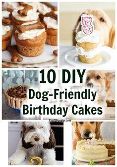 Easy Dog Cake Recipe, Dog Cake Recipes, Dog Biscuit Recipes, Dog Treat Recipes, Dog Food Recipes, Diy Dog Treats, Homemade Dog Treats, Healthy Dog Treats, Puppy Treats