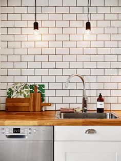 Inspiraci N Deco Estilo N Rdico En Un Piso Neutro Kitchen Whitekitchen Tileselle