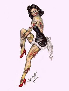 Darth Dixie- Rockabilly Nerd. I wish this was Betty Boop. I need a Betty Boop tattoo... 2nd choice after skull