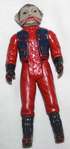 Star Wars Vintage Action Figure Toy 1983 STARWARS. , via Etsy.
