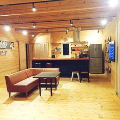 板張りの壁/フルオーダー住宅/無垢材/照明/コンテスト用/アイランドキッチン…などのインテリア実例 - 2015-10-01 13:48:19 | RoomClip(ルームクリップ)