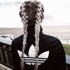 braids, goals, grey, hair, tumblr