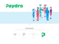 Paydro: Logo Re-branding