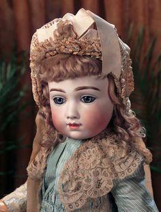 A.Thuillier Antique Porcelain Dolls on Pinterest