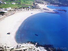 Manganari Beach on Ios Island. A paradise on earth! Paradise On Earth, Greece Islands, Luxury Accommodation, Places To See, Beaches, Sailing, Ios, Destinations, Around The Worlds