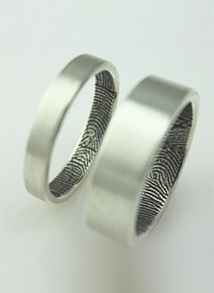 """ The fingerprint excludes all others and that is why (we) find it meaningful.  — Fabuluster, featured seller in Etsy"
