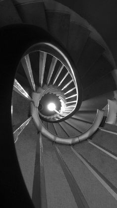 spiral staircase, plas newydd, anglesea, wales