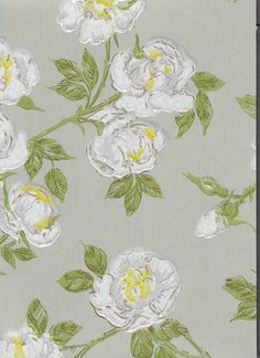 Wallpaper from Philgren & Ritola Oy. Textures Patterns, Fabric Patterns, I Wallpaper, Chalk Paint, Flower Art, Art Photography, Wall Decor, Floral, Painting