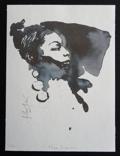 Nina Simone by 3SingesProduction on Etsy, $75.00
