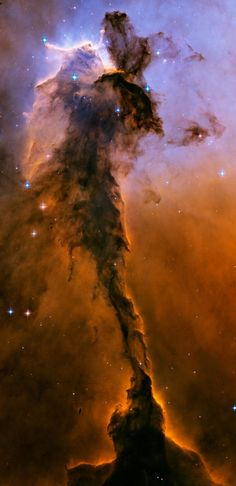 Airline - Military Aircraft - Space Pictures - Airplane Picture Gallery - Astronomy/Hubble Space Telescope Picture of the Stellar Spire Eagle Nebula Hubble Space Telescope, Space And Astronomy, Telescope Images, Space Planets, Eagle Nebula, Ciel Nocturne, Hubble Images, Hubble Pictures, Galaxy Images